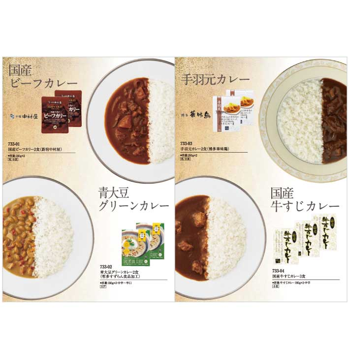プレート+カレー専門カタログ ポルカ [B-03-070]-2