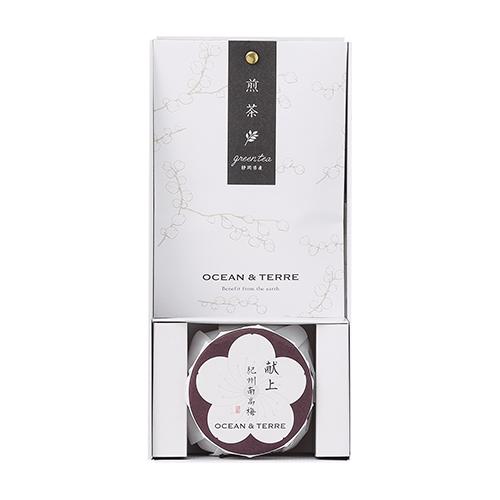 Premium 紀州南高梅&日本茶セットA [A206]