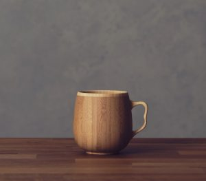 【RIVERET/リヴェレット】カフェオレ マグ  単品 ブラウン [RV-205B]