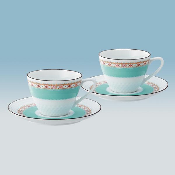 ハミングブルー ティー・コーヒー碗皿ペアセット [1645L/P94589]