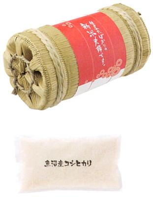 魚沼産コシヒカリ(俵入り) [T-L2]