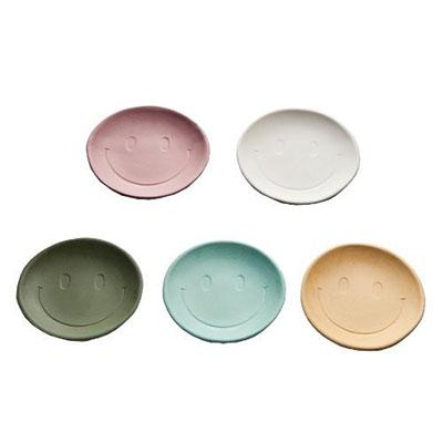 スマイル小皿5枚セット [A-000-086]