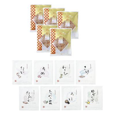 料亭の味わい 贅沢茶漬け・鰹節〈黒〉 [GM202]