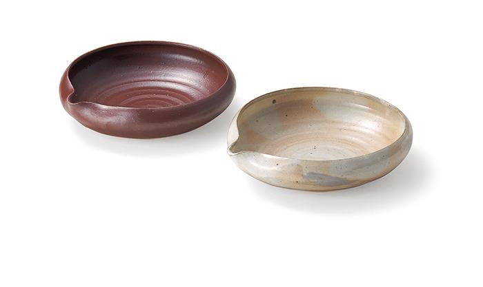 羅紫のふで -幸福- 紅白片口六寸鉢 [ES-1196]