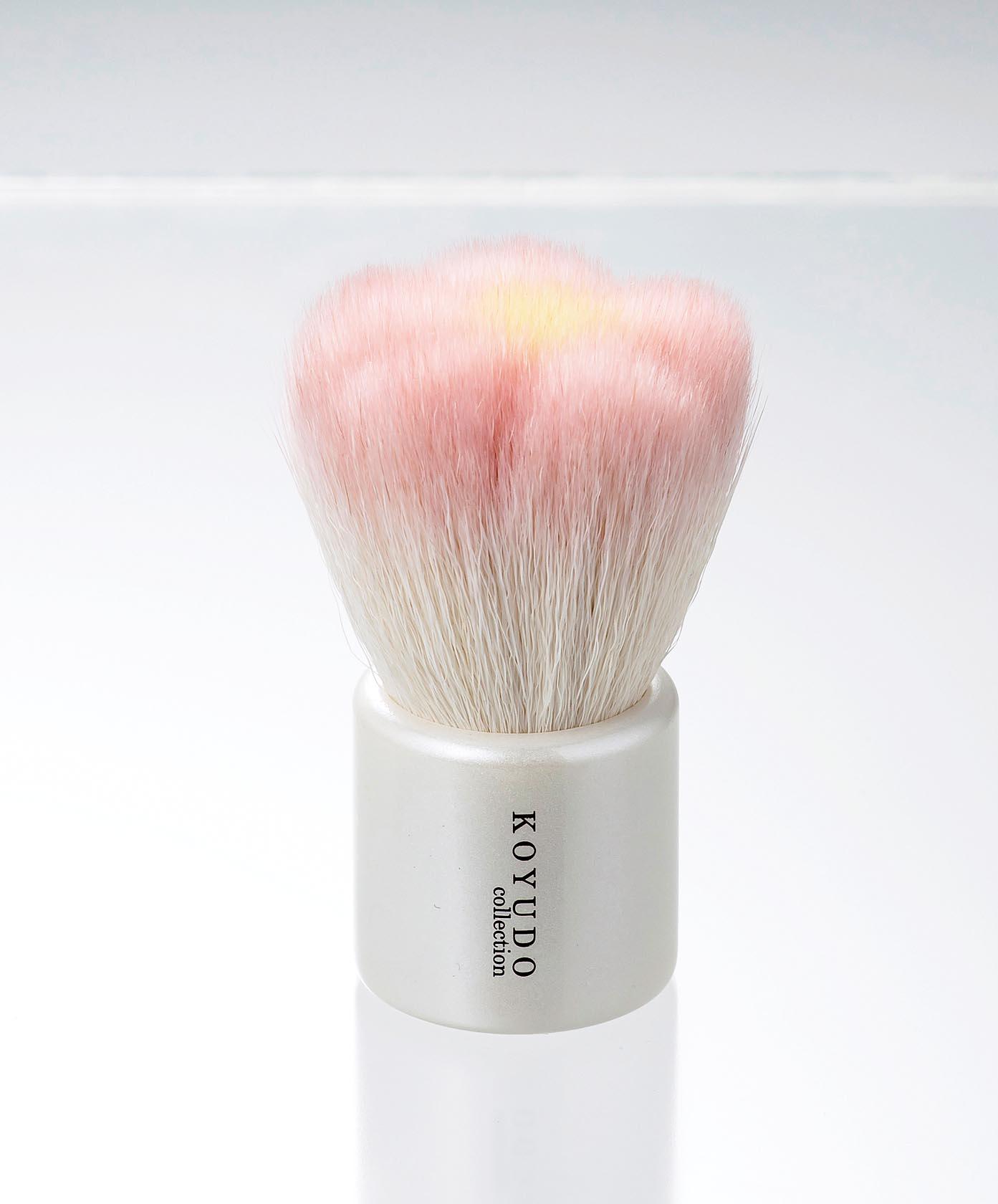 熊野筆 フラワー洗顔ブラシ [42-689-40]