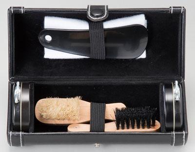 靴磨きセット 丸型 [42-281-45]