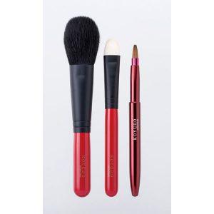 熊野筆 化粧ブラシ3本セット [42-098-41]