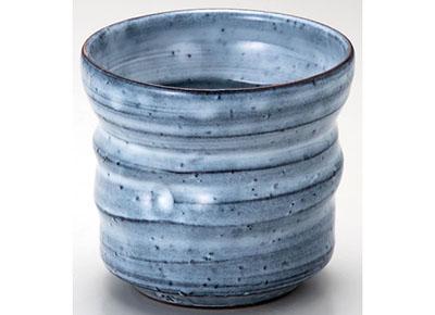 萩焼 青釉焼酎碗 [42-204-117]