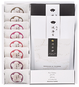 Premium 紀州南高梅・浅草のり・煎茶セット [A201]