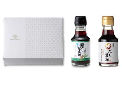健美の里 極-kiwami-だしぽん酢【冷料理用】&だし醤油10A [KS109W]