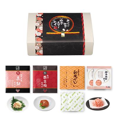 至福のだし茶漬け10B【真鯛・南高梅】 [110607]