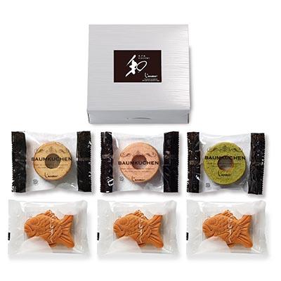 和-なごみ- 和菓子職人が作った和のバウム&もっちり鯛饅頭 [LA123]