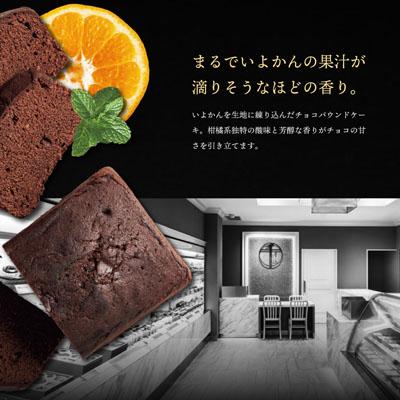 銀座千疋屋 銀座チョコパウンドケーキ [91007-01]-3