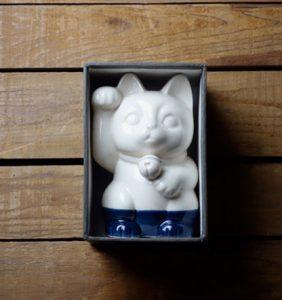 m.m.d. / 招き猫 / 瀬戸焼 / 熨斗・ギフトボックス付き [mmd6]