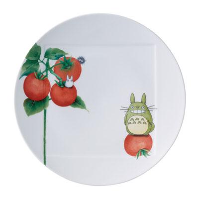 TOTORO となりのトトロ 野菜シリーズ 27cmプレート(トマト) [1704-2L/VT94530]
