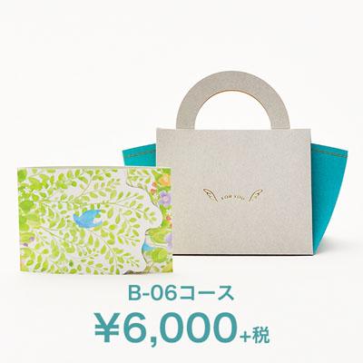 3点(引出物/お菓子/縁起物)<br>選べるカード型ギフト<br>e-order choice Wedding 3 <B06(バッグ)> [19225310]