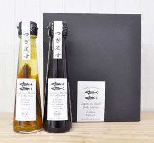 Japanese Dashi Katsuoflavor soysauce &Vinegar 2本セット[だし醤油/濃口 だし酢] [SHM37204]