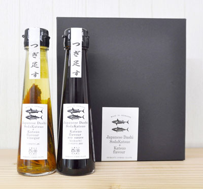 Japanese Dashi Katsuoflavor soysauce &Vinegar 2本セット[だし醤油/濃口 だし酢] [SHM37204]-1