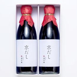 京だし2本セット 化粧箱入 [tsunokiti9]