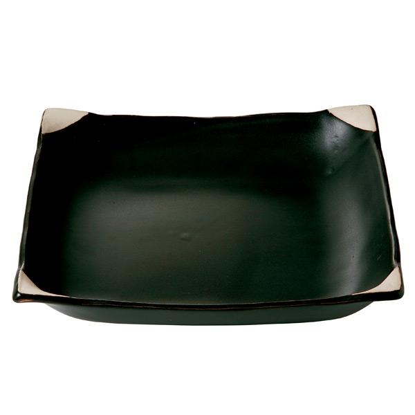 黒釉 ほっこり鍋 [12-643-122]