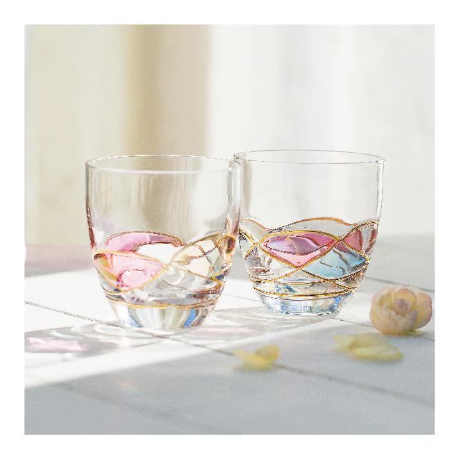 グラス+果実酒専門カタログギフト コーラル [B-03-026]